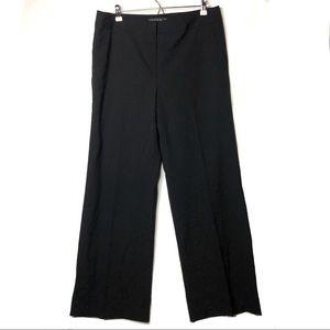 Lafayette 148 black trousers 12 B4